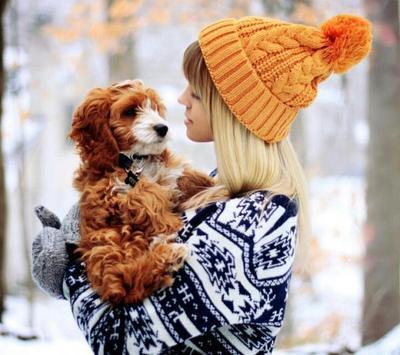 可爱孩子和萌货狗狗的搞笑图片_非主流可爱图
