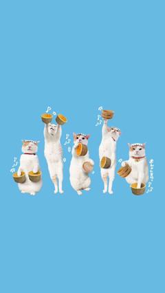 清新可爱萌宠手绘动漫插画动物植物宝贝儿卡通